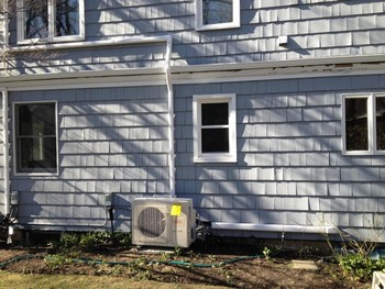 Ductless air conditioning system installed in Northport, NY
