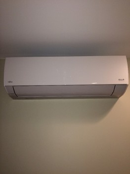 Ductless ac/heating system installed in East Setauket, NY