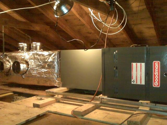 New Attic HVAC system in Deer Park,  NY