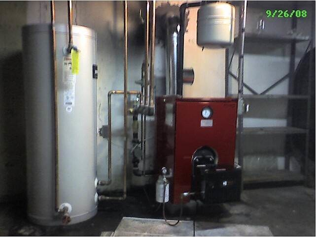 Biasi Boiler w/ Riello Burner and indirect water heater in Sayville, NY