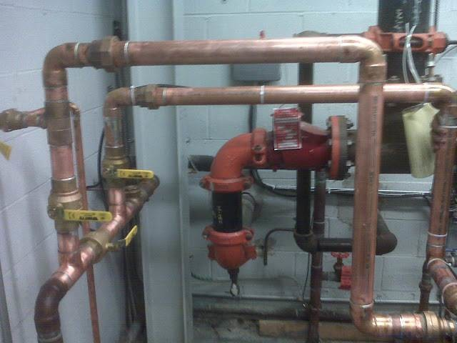 Commercial Pipe Work in Commack, NY
