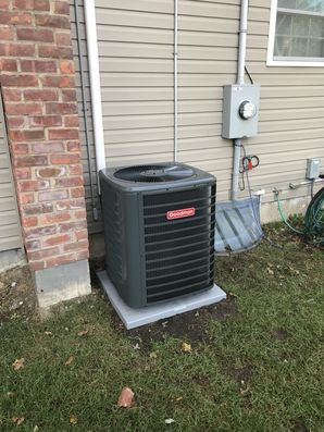 Brand New Goodman Central Air Conditioning System installed in Smithtown, NY. (4)